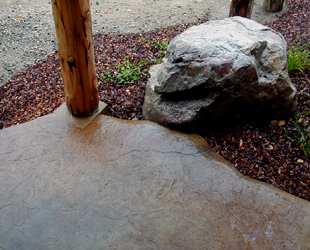 Copeland-Payton residence, patio stone, photo 15