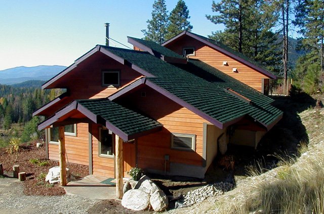 Copeland-Payton Residence, roof, photo 3